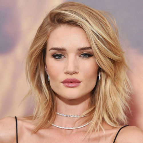 Celebrity Lob Hairstyle