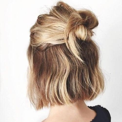Cute Easy Updos For Short Hair