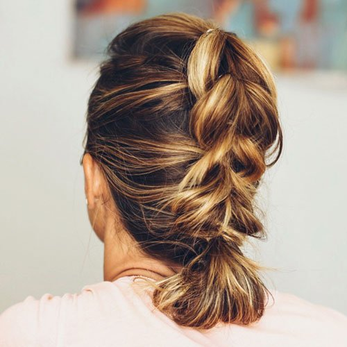 Easy Quick Updos For Short Hair