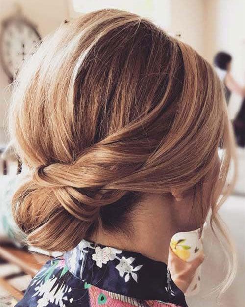 Elegant Updos For Short Hair