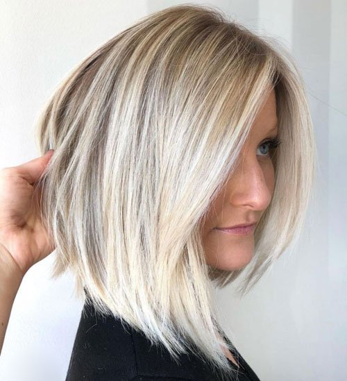 Long Bob For Fine Hair