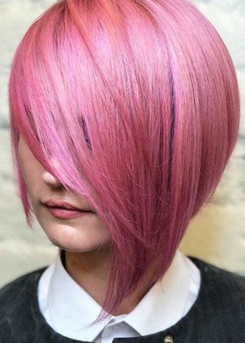 Long Pink Bob