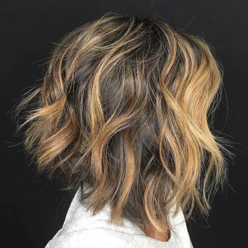 Messy Long Bob