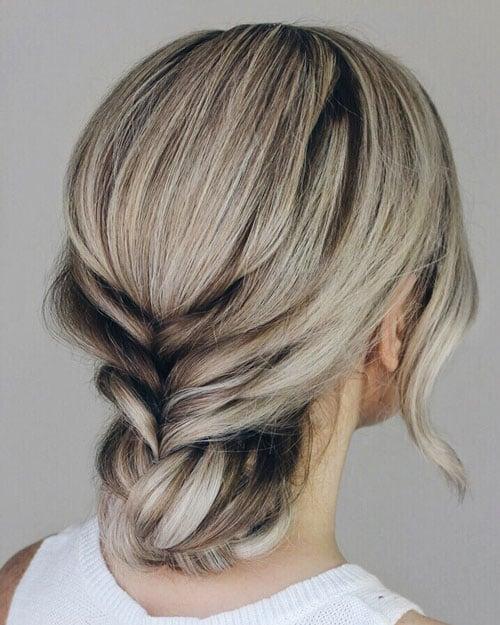Simple Elegant Updos For Short Hair