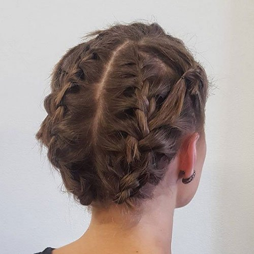 Updo Hairstyles For Very Short Hair