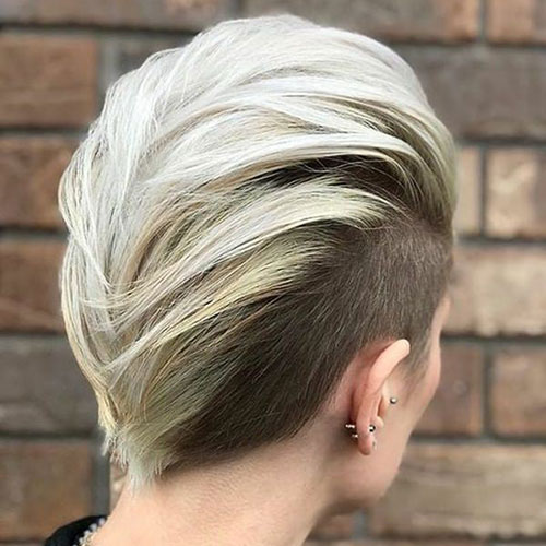 Updos For Very Short Hair