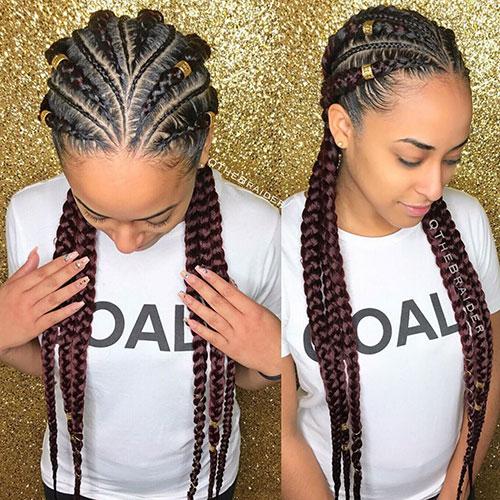 6 Braids Hairstyles