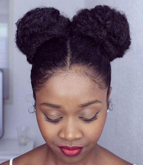 Black Girl Bun