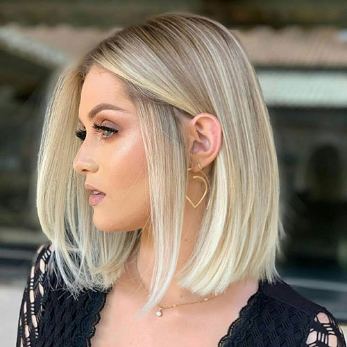 Blunt Bob For Thick Hair