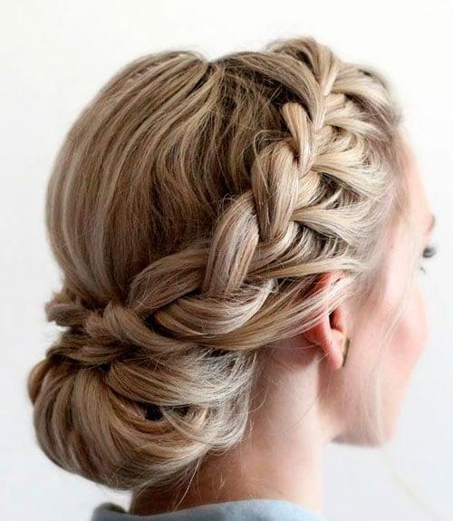 Braided Bun Hairstyles