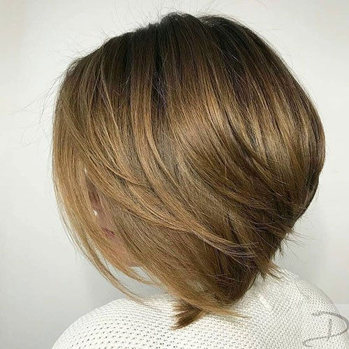 Concave Bob For Thick Hair