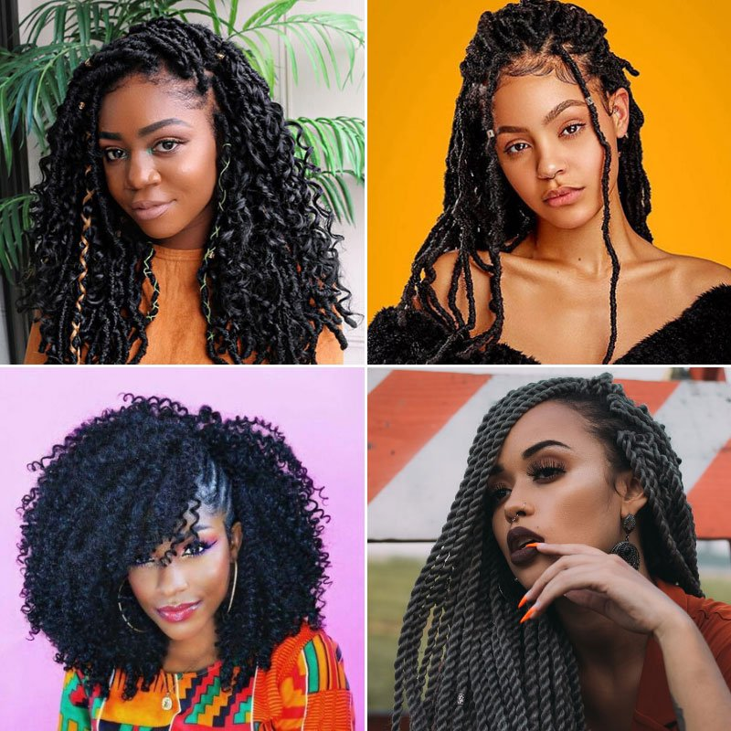 Crochet Hairstyles For Black Women