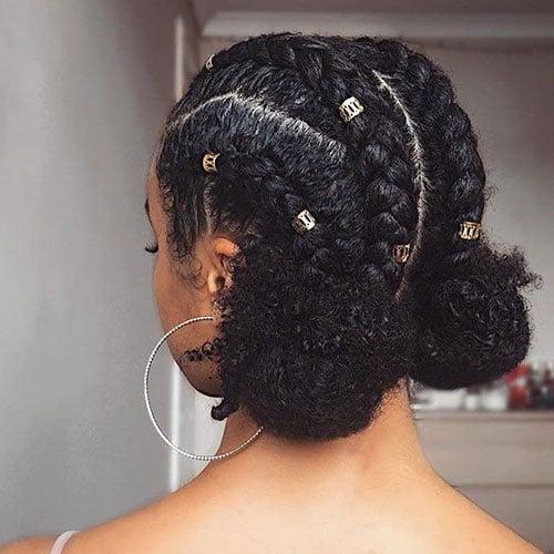 Cute Goddess Braids