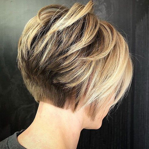Cute Short Inverted Bob