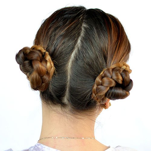 How To Do Pigtail Buns