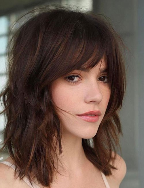Long Bob with Front Fringe