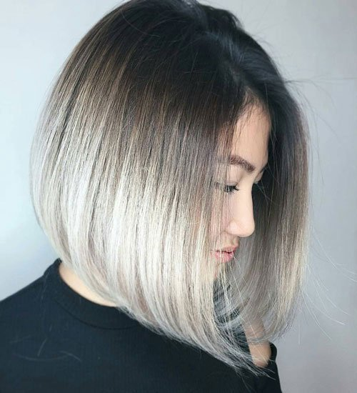 Medium Inverted Bob Haircut