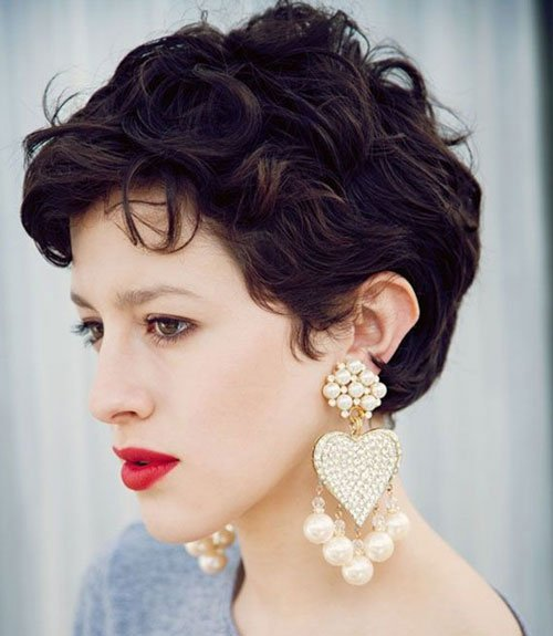 Naturally Curly Pixie Cut