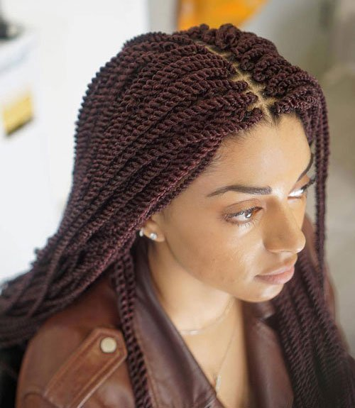 Senegalese Twist Crochet Braids