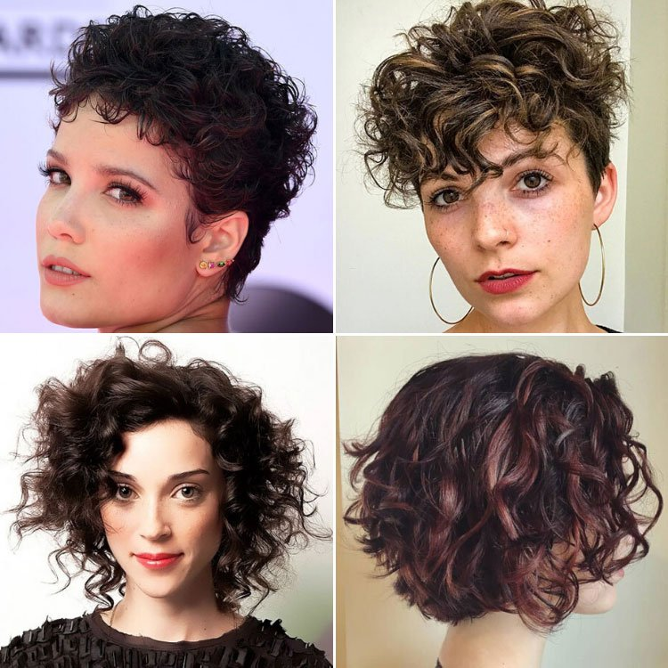 63 Cute Hairstyles For Short Curly Hair Women 2020 Guide
