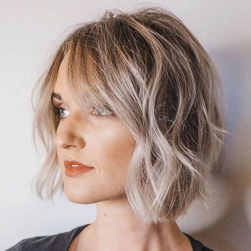 Short Layered Bob with Layers