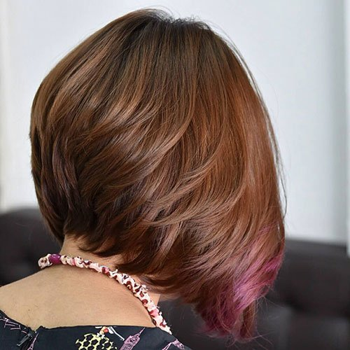Short Layered Inverted Bob