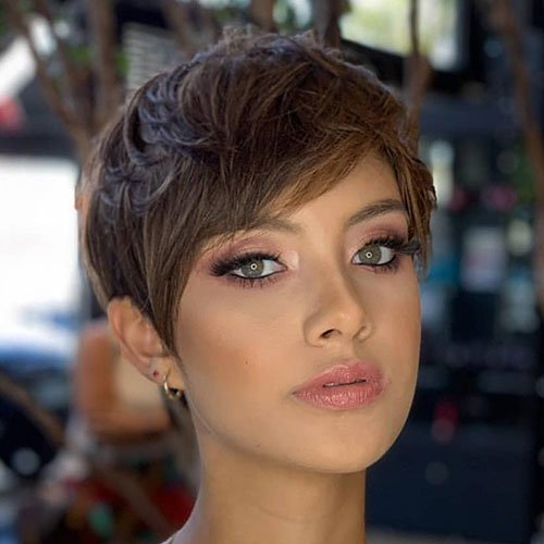 Short Pixie Cut For Thick Hair