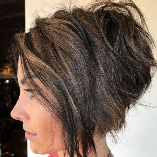 Short Stacked Inverted Bob
