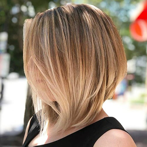 Shoulder-Length Inverted Bob