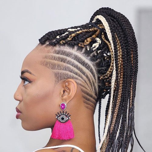 59 Sexy Goddess Braids Hairstyles To Get In 2020