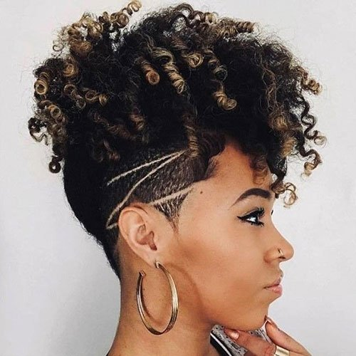 Updo For Short Naturally Curly Hair