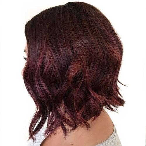 Burgundy Auburn Hair