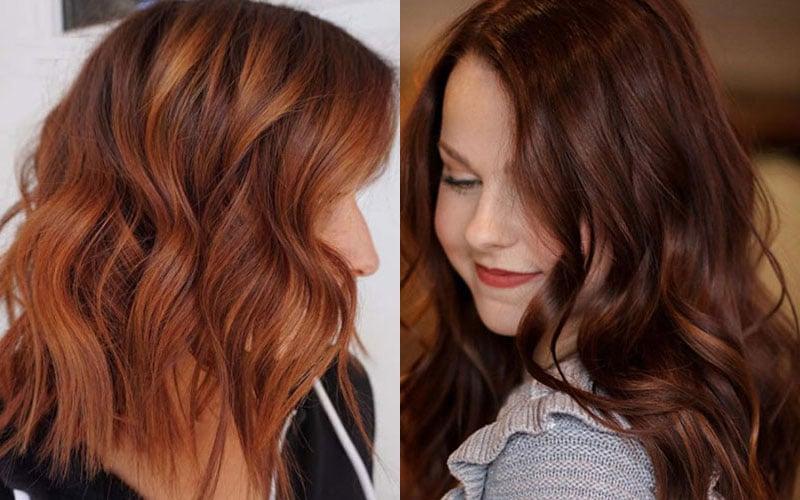 Chestnut vs Auburn Hair Color