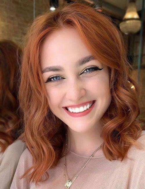 Light Auburn Hair