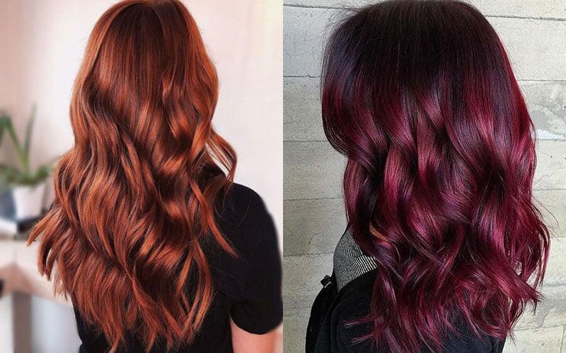 Mahogany vs Auburn Hair Color