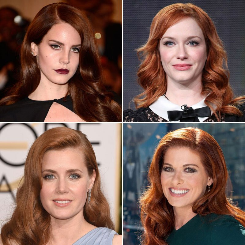 Red Brown Auburn Hair Color