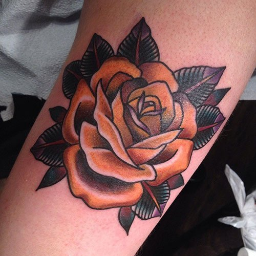 Rose Bush Tattoo