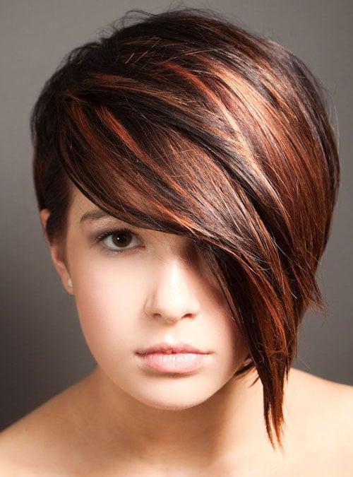 Short Auburn Hair
