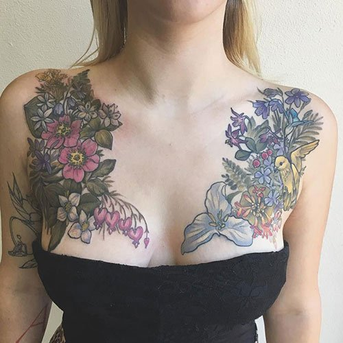 Beautiful Chest Tattoo