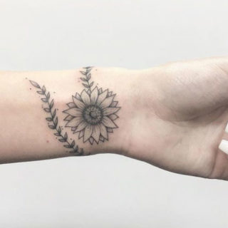 Best Sunflower Tattoos