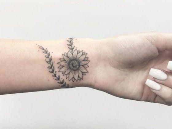 Best Sunflower Tattoos