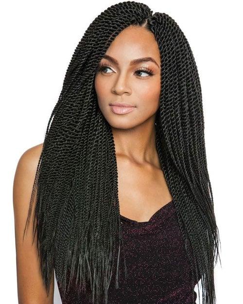Crochet Senegalese Twist Hairstyles