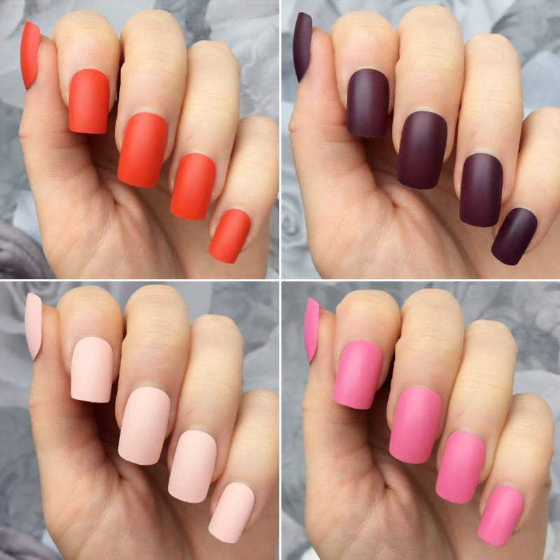 Cute Matte Nail Color Ideas