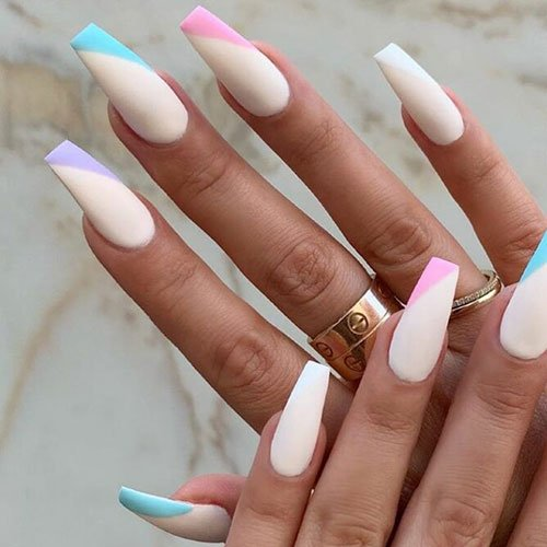 Cute Matte Nail Ideas