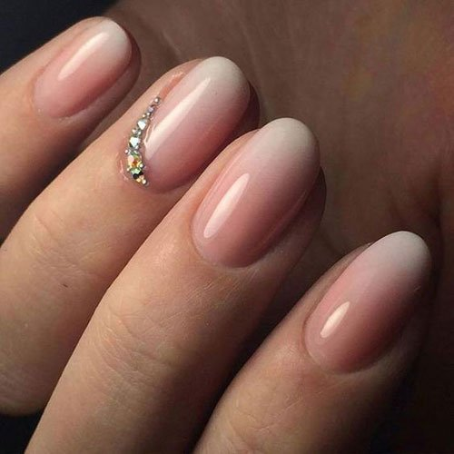 French Fade Nails