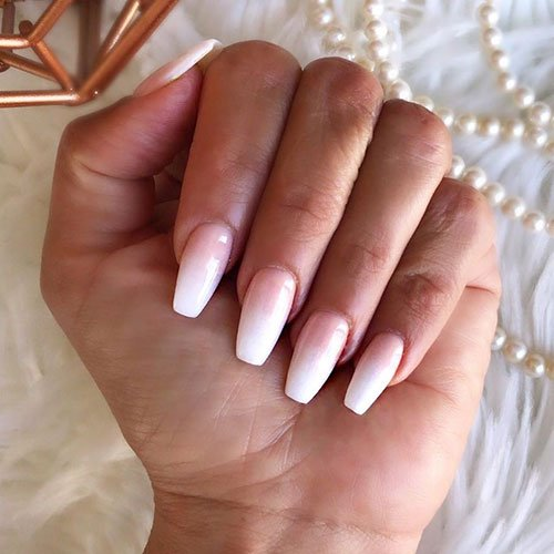 French Tip Ombre Nails