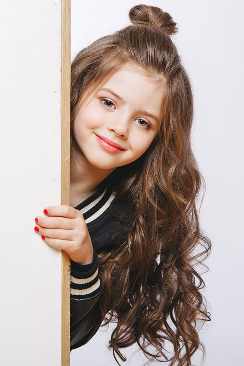 Hairstyles For Little Girls with Long Hair