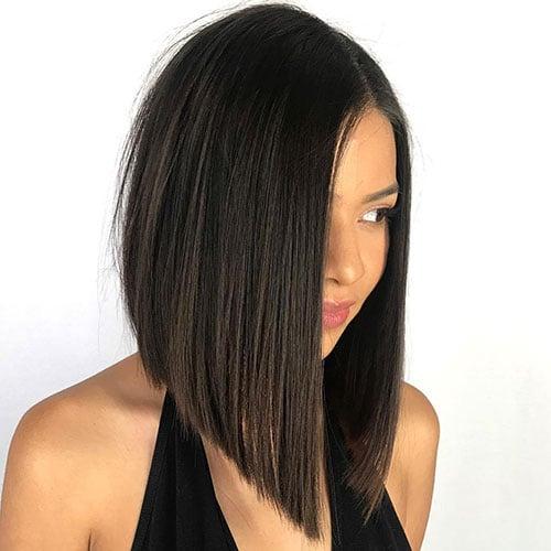 Long Bob Lob Hairstyles For Women