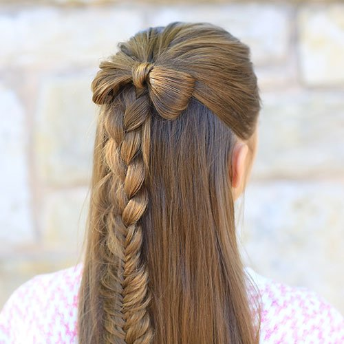 Long Hairstyles For Little Girls