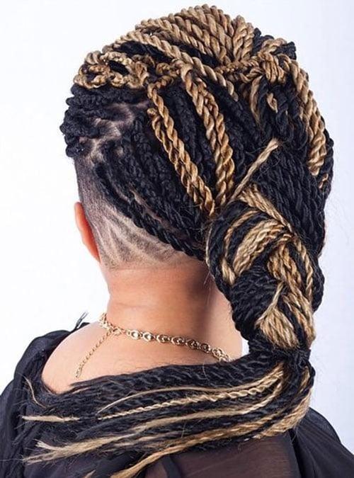 Senegalese Twist Styles